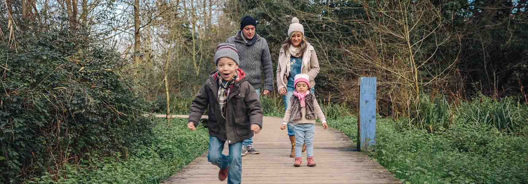 Family who is taking steps to save for holiday spending so it doesn't get out of control.