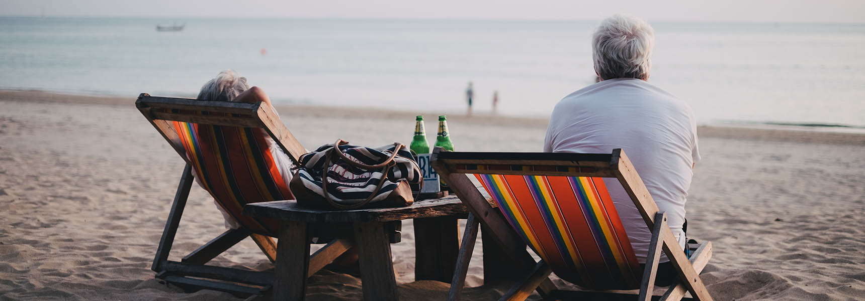 Photo of a couple who are using annuities to guarantee income in retirement.