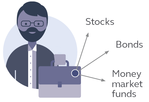 A fund manager selects and manages your funds.