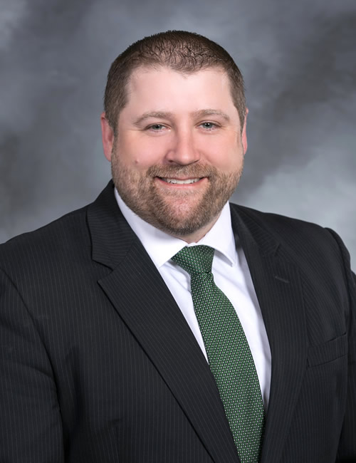 Photo of Clint Hinderaker, Managing Director for the Eastern Iowa Business Center