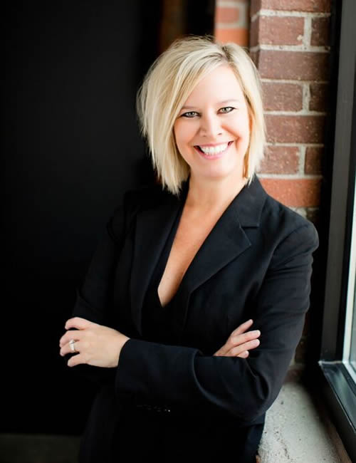 Photo of Dawn Wolfgram, Regional managing director for the Kansas City Business Center