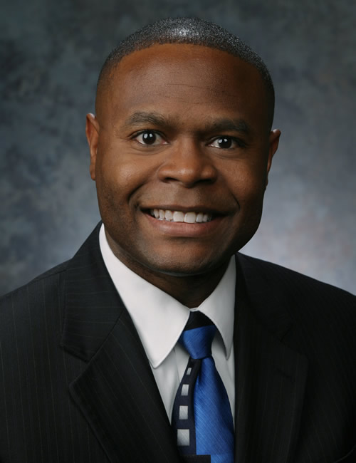 Photo of Guillermo Bailey, associate managing director for the Great Plains Business Center