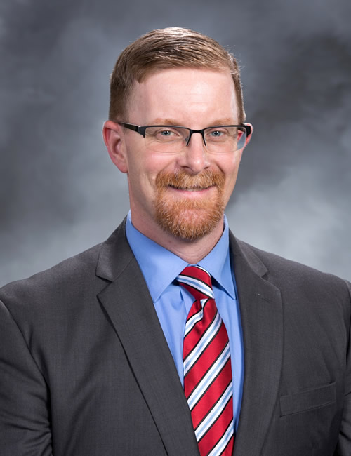 Photo of Jason Folsom, Managing Director for the Eastern Iowa Business Center