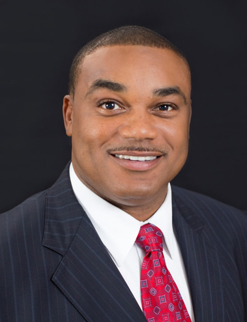 Photo of Shawn Wooden, managing director for South Florida Business Center