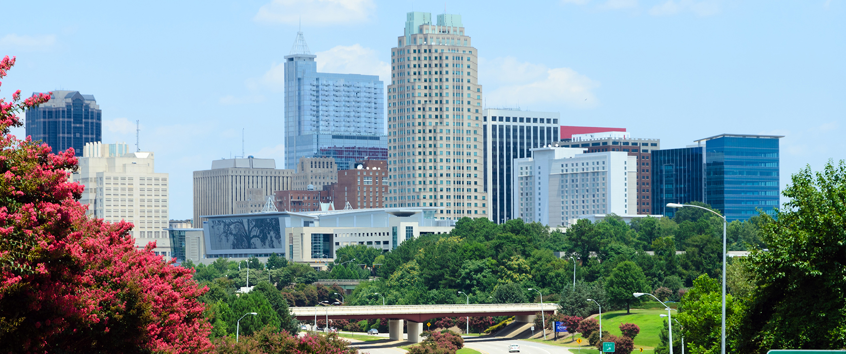 Photo of Raleigh, North Carolina where the Atlantic Coast Business Center site is located.