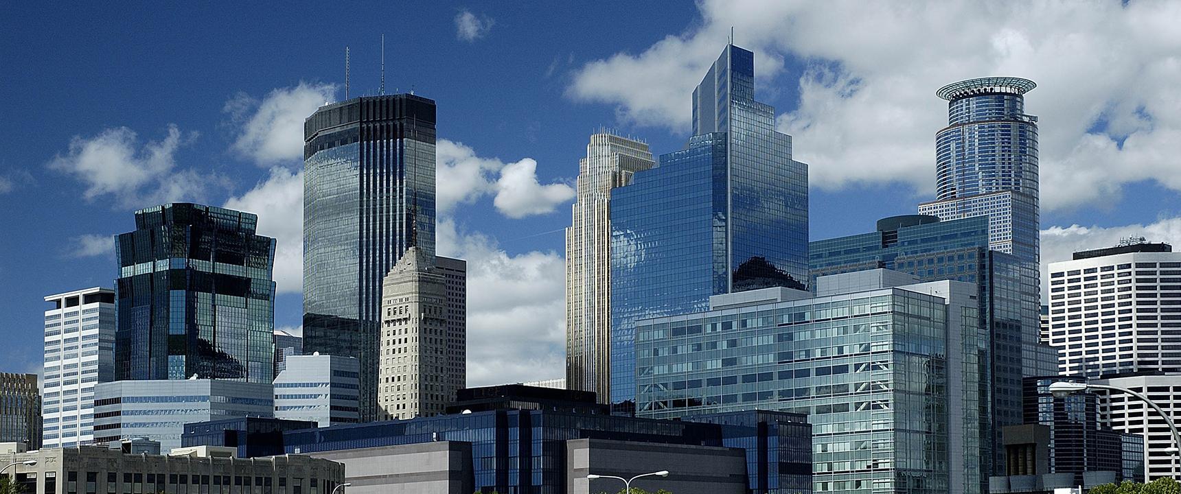 Photo of downtown Minneapolis, Minnesota.