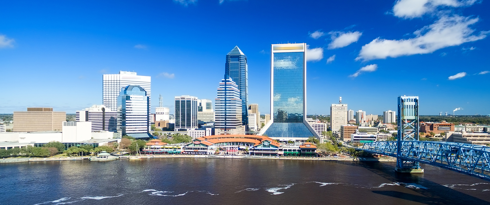 Photo of Jacksonville, Florida where the North Florida Business Center is located.