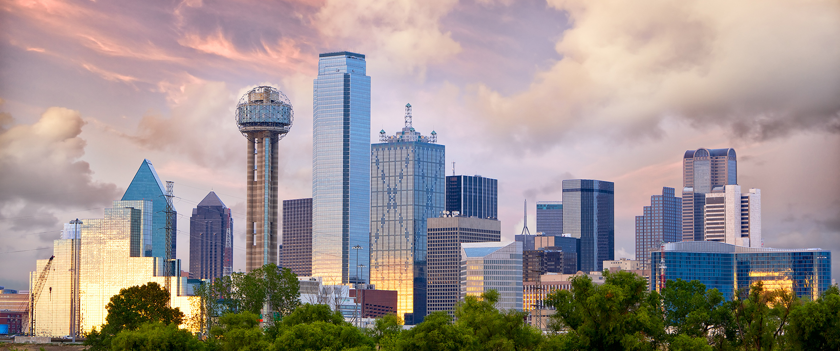 Photo of Dallas, Texas where the North Texas Business Center is located just outside of.