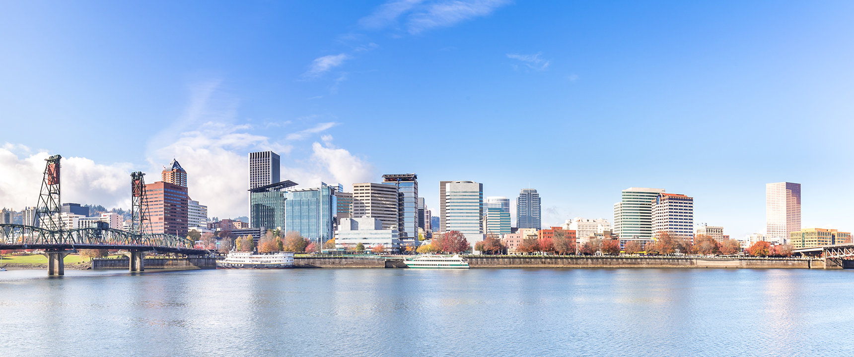 Photo of Portland, Oregon which the Northwest Business Center is located just outside of.