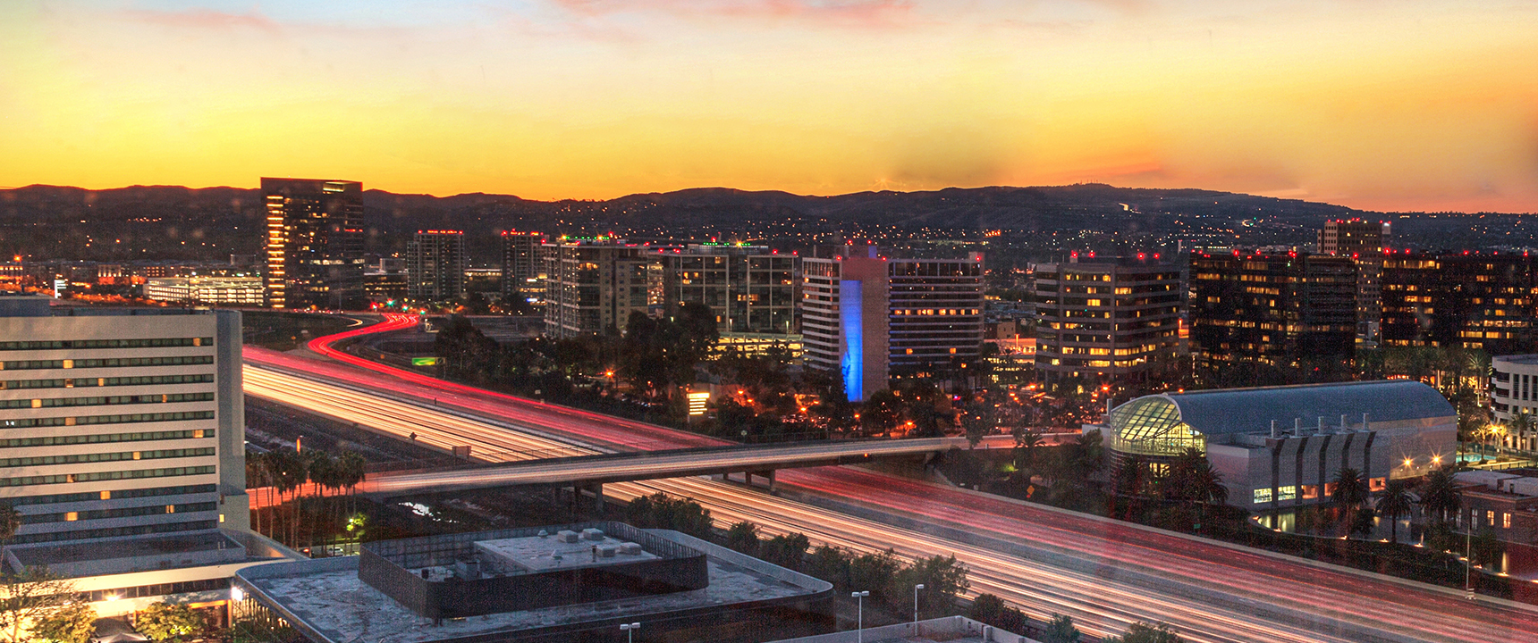 Photo of Irvine, California where the Southern California Business Center is located.