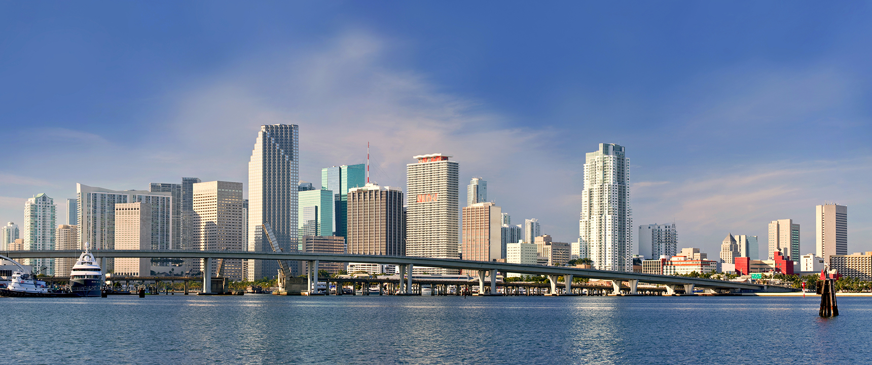 Photo of Miami, Florida where the South Florida Business Center is located outside of.
