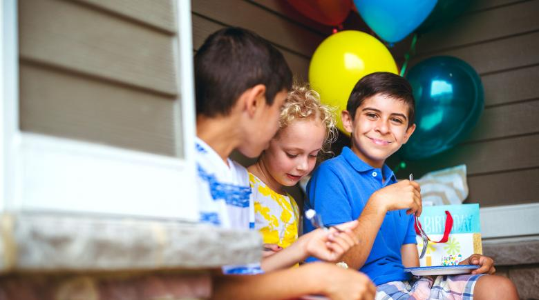Young children who will enjoy the benefits of a 529 Plan when they go to college