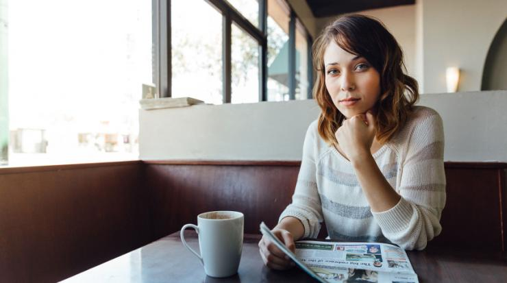 Young mother prioritizing between saving for retirement and saving for college.