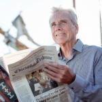 Man maximizing his retirement savings through catch-up contributions
