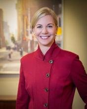 Photo of Janice Swanson, Regional Managing Director of the Northwest Business Center.