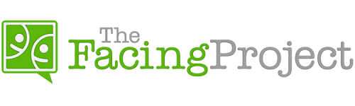 Logo for The Facing Project.