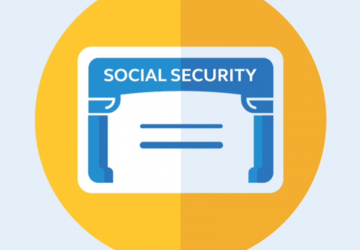 Screenshot of a social security card graphic from the 5 best kept secrets of social security video.