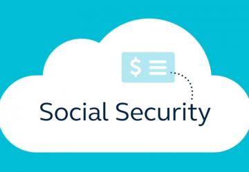 Image from webinar that says Social Security.