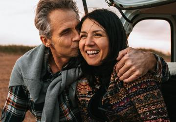 Photo of a couple that has decided they need a personal trust as part of their estate plan.