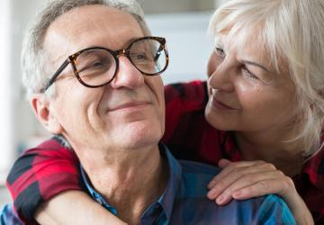 Photo of couple considering updating their trust to be ready for the unexpected.